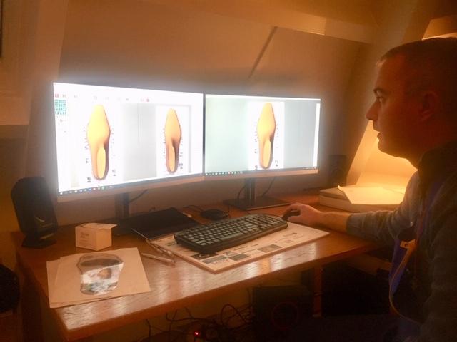 Voetencentrum Fijner Lopen schaft nieuw CAD-CAM systeem aan.